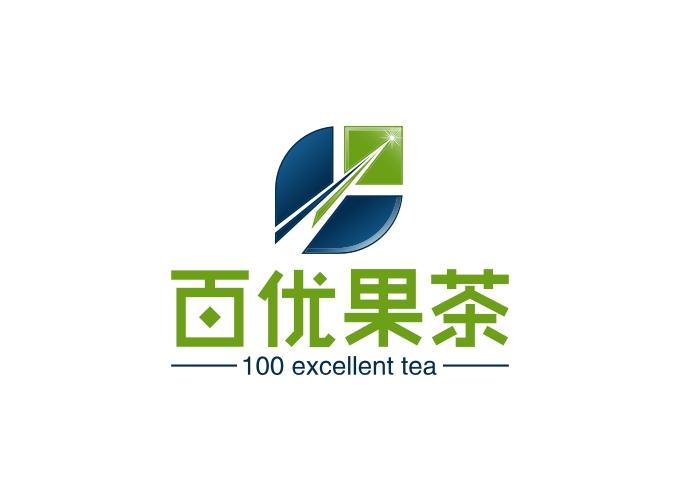 百优果茶LOGO设计