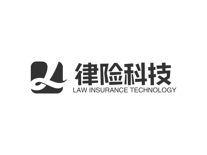 律险科技LOGO设计