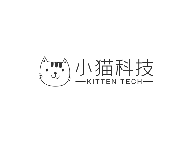 小猫科技LOGO设计