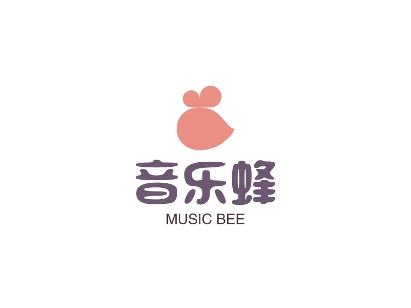 音乐蜂LOGO设计