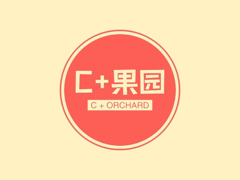 C+果园LOGO设计