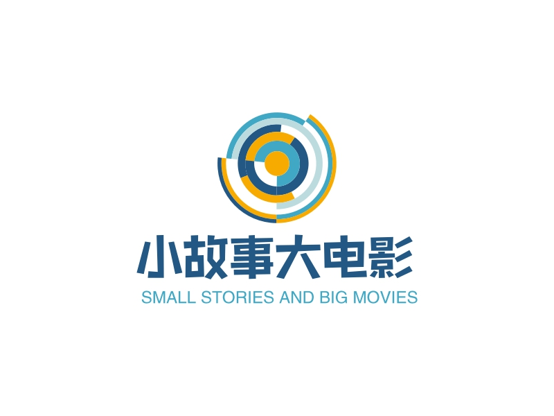 小故事大电影LOGO设计