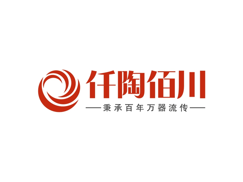 仟陶佰川LOGO设计