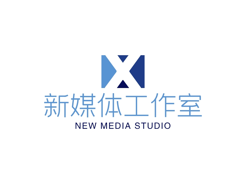 新媒体工作室LOGO设计