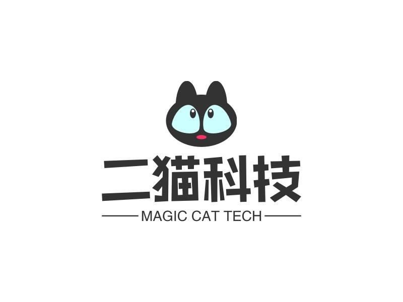 二猫科技LOGO设计