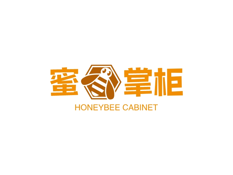 蜜蜂掌柜LOGO设计