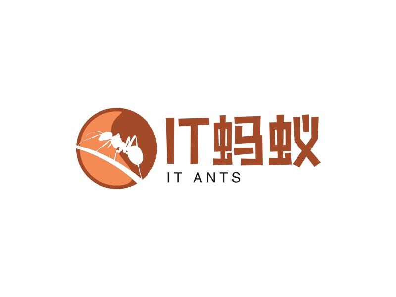 IT蚂蚁LOGO设计