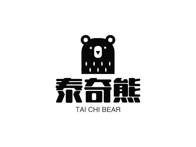 泰奇熊LOGO设计