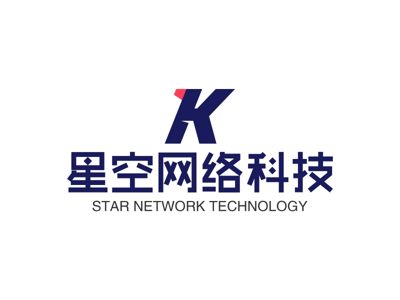 星空网络科技LOGO设计