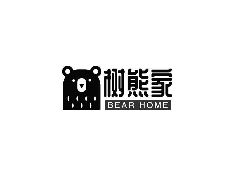 树熊家LOGO设计