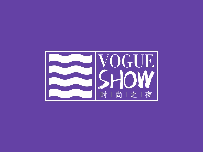 vogue showLOGO设计
