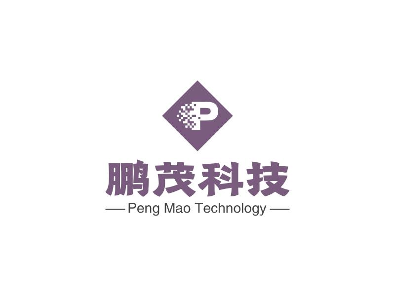 鹏茂科技LOGO设计