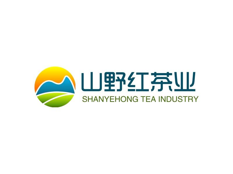 山野红茶业LOGO设计