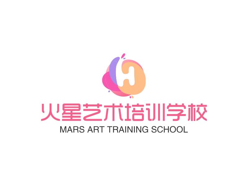 火星艺术培训学校LOGO设计