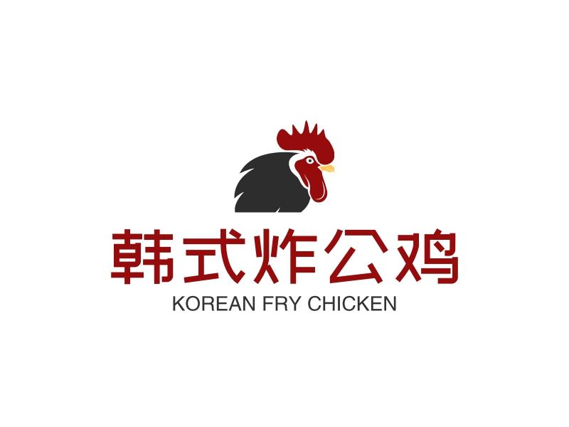 韩式炸公鸡LOGO设计