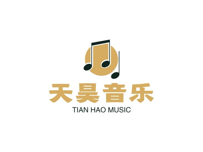 天昊音乐LOGO设计