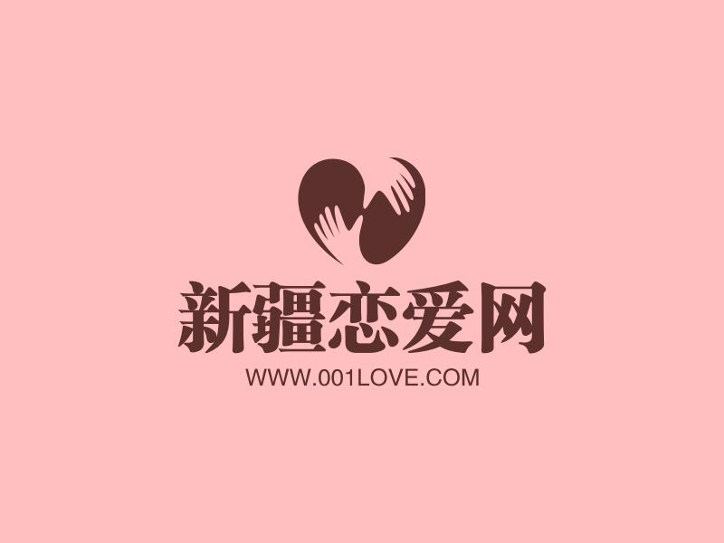 新疆恋爱网LOGO设计