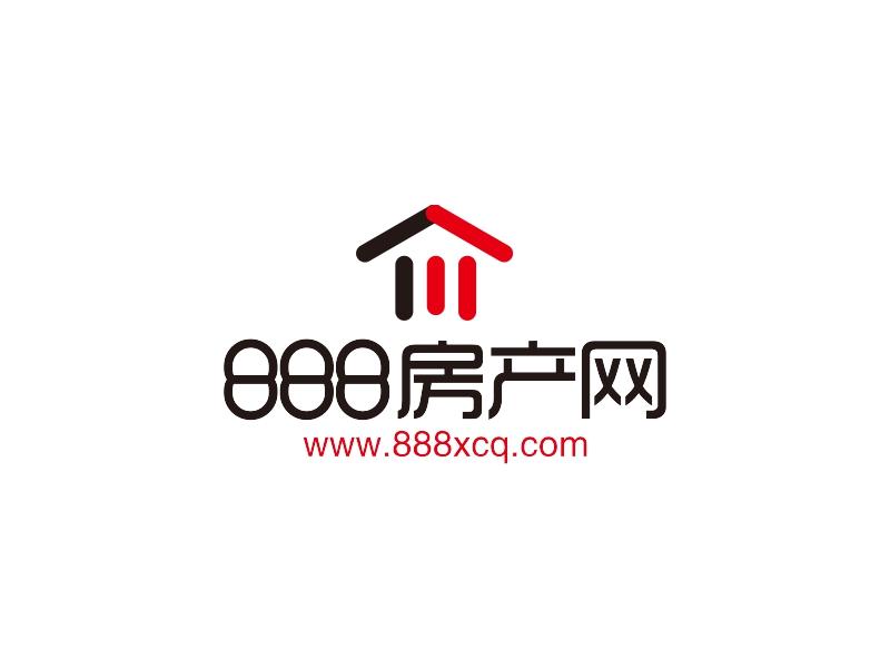 888 房产网LOGO设计