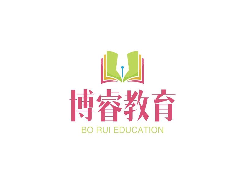 博睿教育LOGO设计