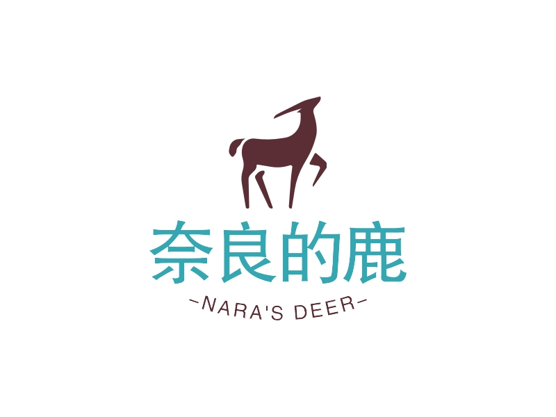 奈良的鹿LOGO设计