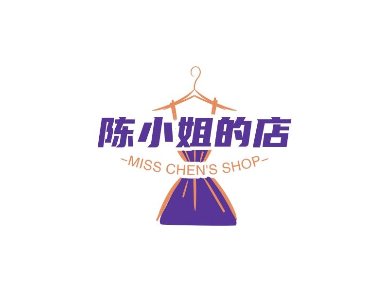 陈小姐的店LOGO设计