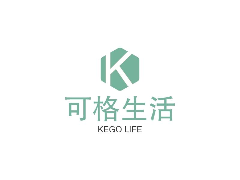 可格生活LOGO设计