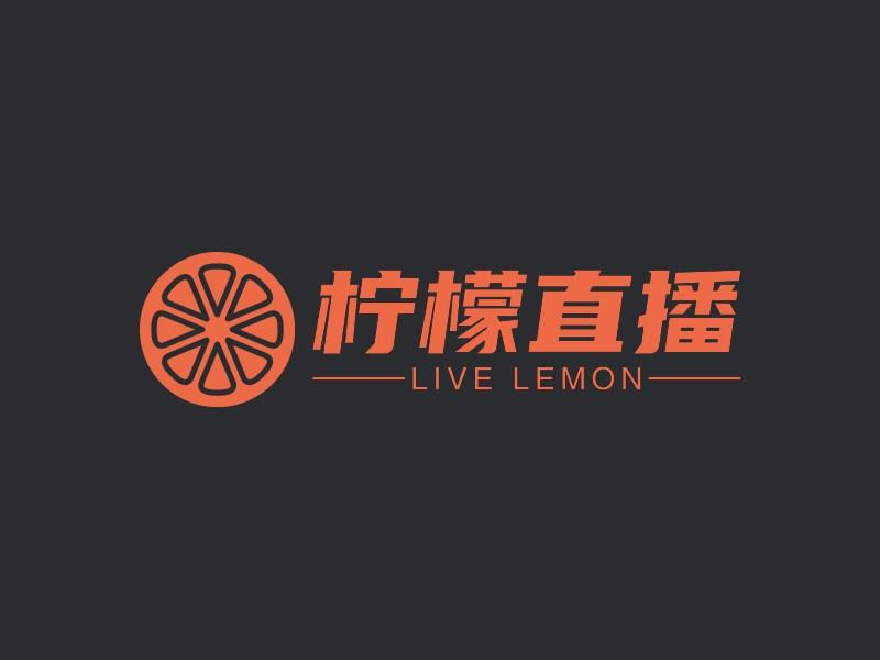 柠檬直播LOGO设计