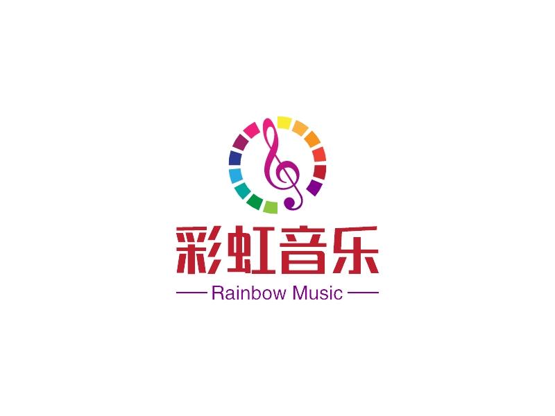 彩虹音乐LOGO设计