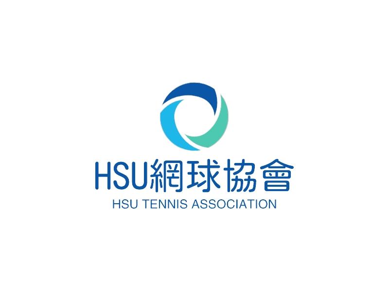 HSU网球协会LOGO设计