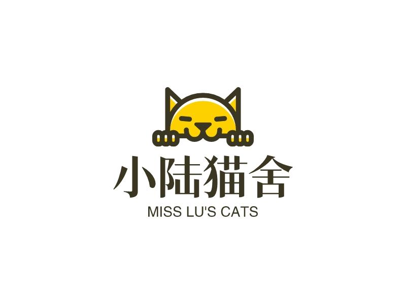 小陆猫舍LOGO设计