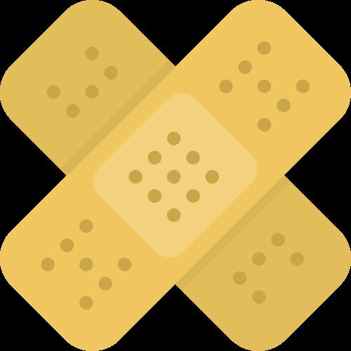 创口贴医疗矢量图商标素材矢量logo