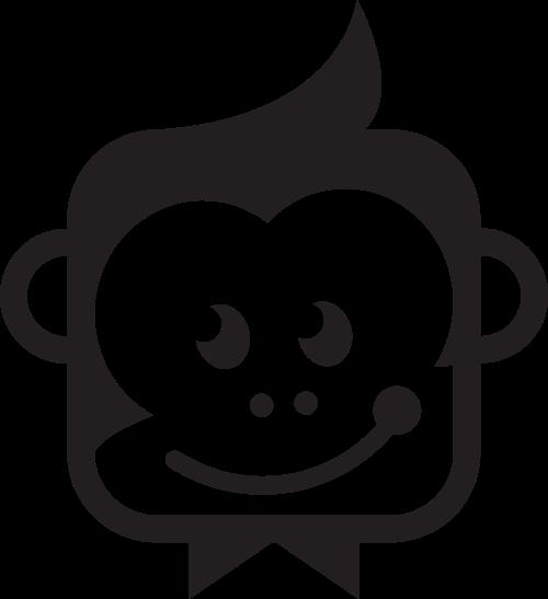 猴子动物矢量图logo素材矢量logo