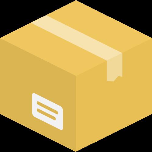 纸箱快递箱矢量图标志素材矢量logo