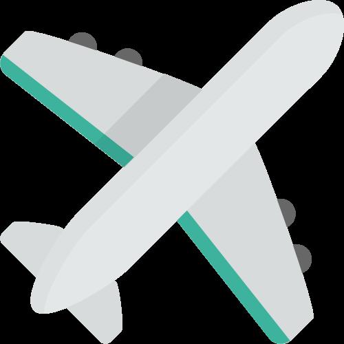 飞机矢量图标志素材矢量logo