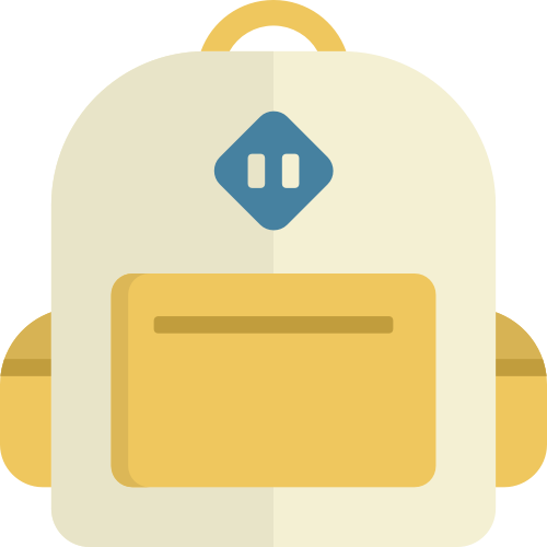 书包背包矢量图logo素材矢量logo