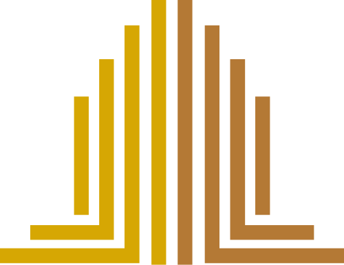 金色楼房建筑房地产矢量图logo素材矢量logo