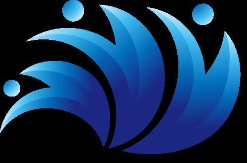 人形浪花矢量图logo素材矢量logo