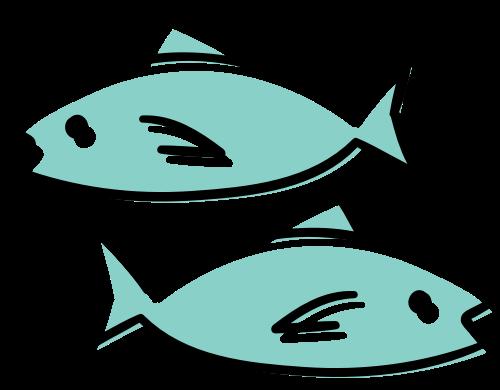 两条鱼矢量图logo素材矢量logo