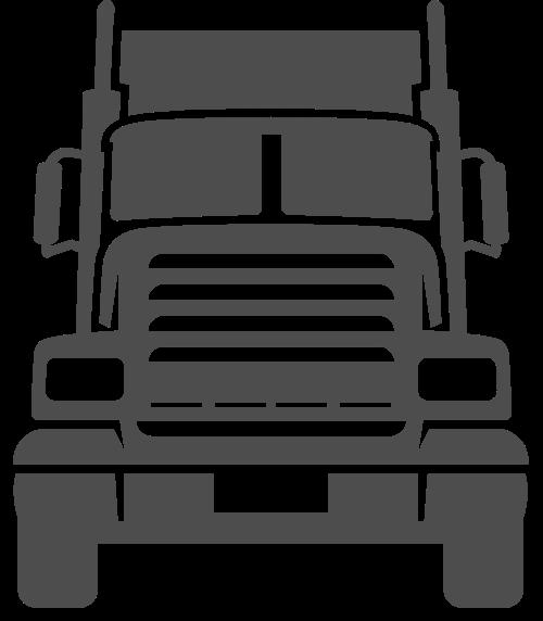 汽车卡车矢量图标志素材矢量logo