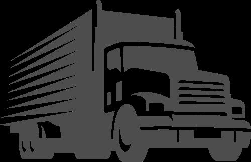 卡车货车矢量图标志素材矢量logo