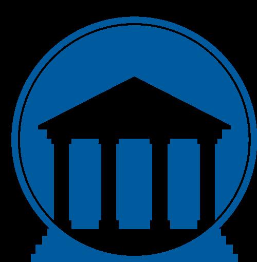 法院博物馆建筑矢量图标志素材矢量logo