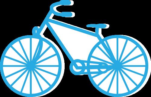 自行车矢量图logo素材