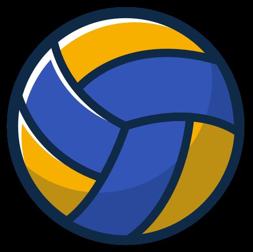 排球矢量图标志素材矢量logo