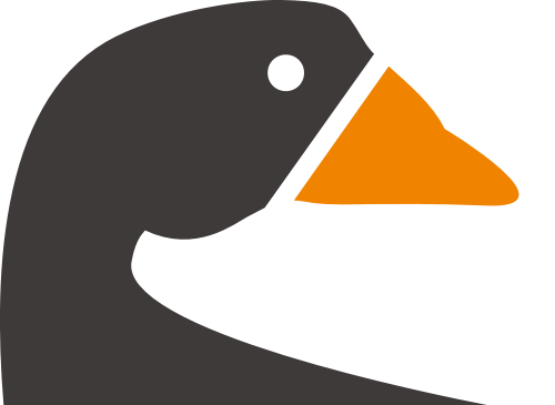 天鹅鸟类矢量图商标素材