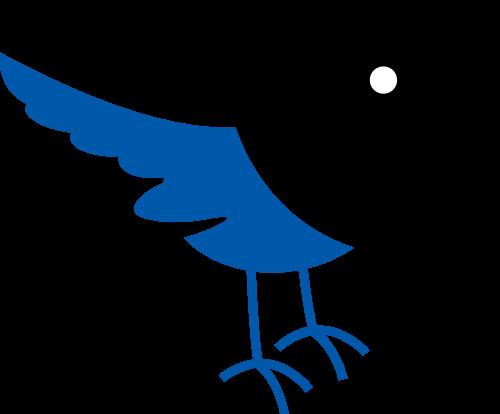 小鸟矢量图logo素材矢量logo