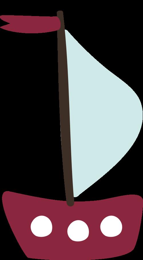 帆船矢量图logo素材矢量logo