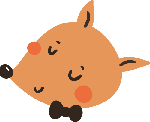 狐狸动物矢量图logo素材矢量logo