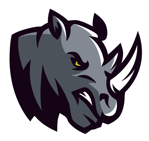 犀牛动物矢量图商标素材矢量logo