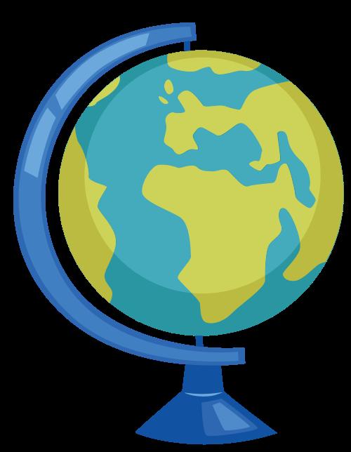 地球仪矢量图标志素材矢量logo