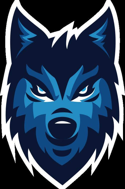 狼动物矢量图logo素材矢量logo